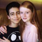 Aidan Gallagher and Hannah McCloud dated