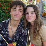 Asher Angel with ex-girlfriend Annie LeBlanc
