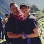 Asher Angel with father Jody Angel