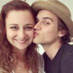 Brandon Flynn with sister Danielle Flynn image