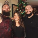 Bray Wyatt with brother Bo Dallas and sister Mika Rotunda