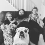 Bray Wyatt with daughter Kendyl Rotunda