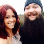 Bray Wyatt with ex-wife Samantha Rotunda