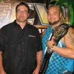 Bray Wyatt with father Mike Rotunda