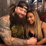 Bray Wyatt with partner JoJo Offerman