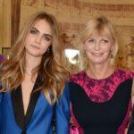 Cara Delevingne with mother Pandora Delevingne