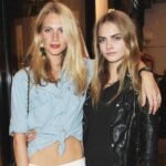 Cara Delevingne with sister Poppy Delevingne