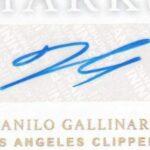 Danilo Gallinari signature