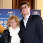 Danilo Gallinari with mother Marilisa Gallinari
