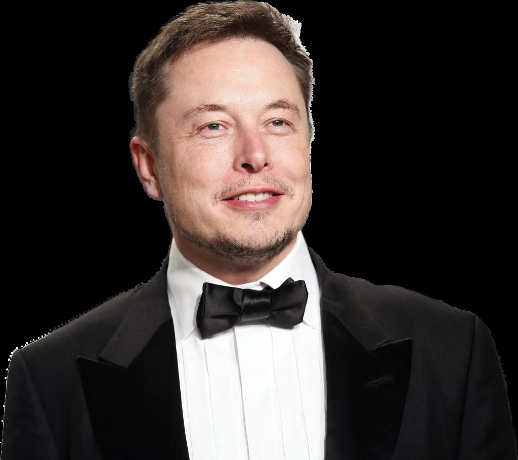 Elon Musk transparent background png image