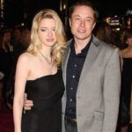 Elon Musk with ex-wife Talulah Riley image