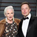 Elon Musk with mother Maye Musk