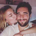 Emily VanCamp with husband Josh Bowman image