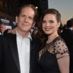 Hayley Atwell with father Grant Atwell