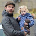 Jamie Dornan with daughter Dulcie Dornan