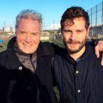Jamie Dornan with father Jim Dornan