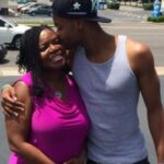 King Bach with mother Ingrid Mourice