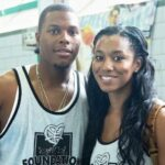Kyle Lowry with wife Ayahna Cornish-Lowry image
