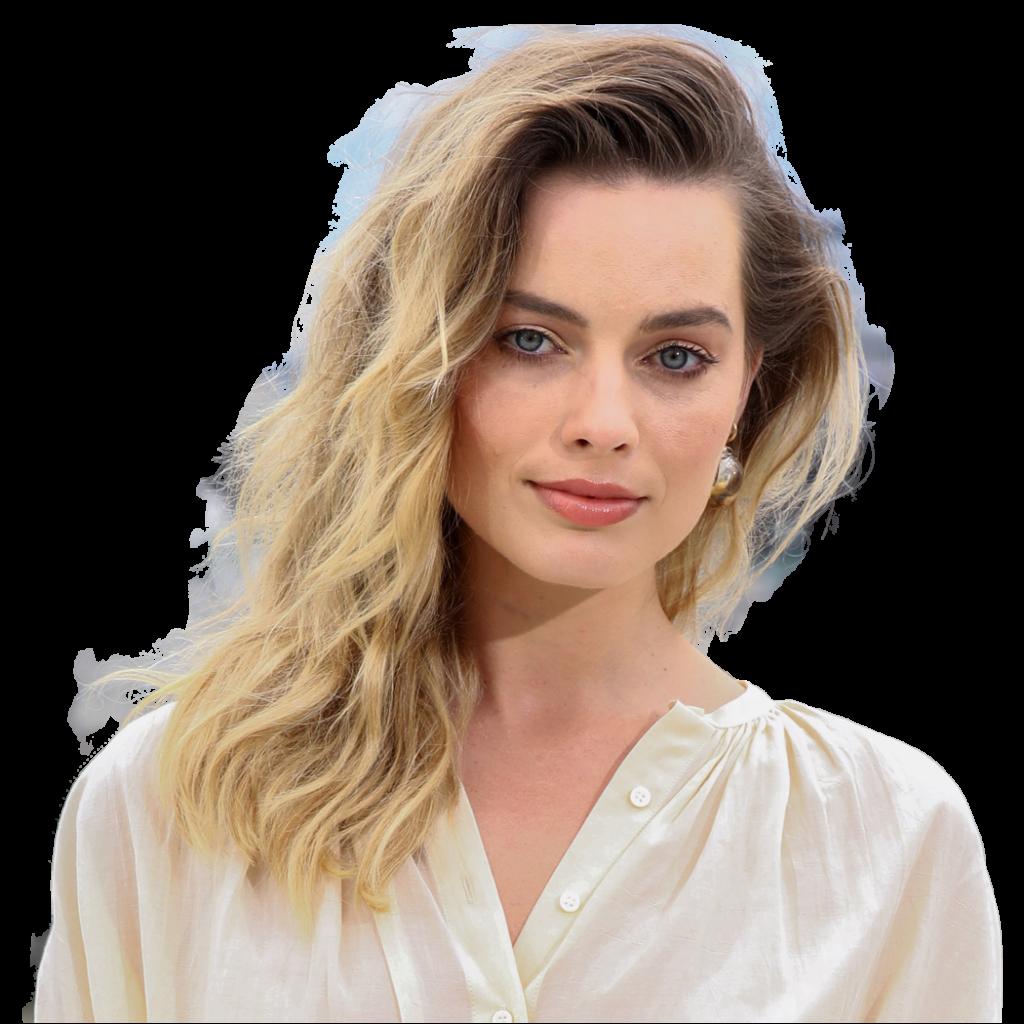 Margot Robbie transparent background png image