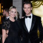 Margot Robbie with brother Cameron Robbie