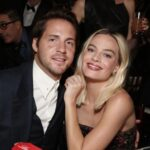 Margot Robbie with husband Tom Ackerley
