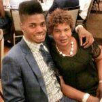 Nerlens Noel with mother Dorcina Noel