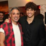Noah Centineo with father Gregory Vincent Centineo