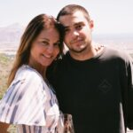 Noah Centineo with mother Kellee Centineo