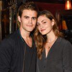 Paul Wesley with ex-girlfriend Phoebe Tonkin