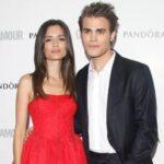 Paul Wesley with ex-wife Torrey DeVitto
