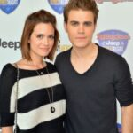 Paul Wesley with ex-wife Torrey DeVitto image