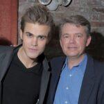 Paul Wesley with father Thomas Wasilewski