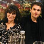 Paul Wesley with mother Agnieszka Wasilewski