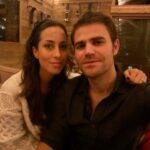 Paul Wesley with wife Ines de Ramon