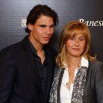 Rafael Nadal with mother Ana Maria Parera