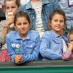 Roger Federer twin daughters Myla Rose and Charlene Riva