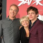 Ross Lynch with father Mark Lynch