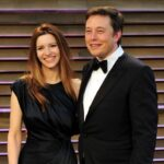 Talulah Riley with former husband Elon Musk