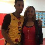 Terrance Ferguson with mother Rachelle Holdman