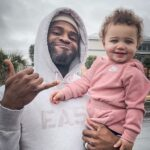 Terrence Brooks with daughter Hizzy Brooks
