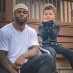 Terrence Brooks with son Carter Brooks