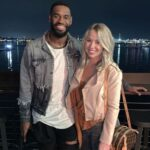 Terrence Brooks with wife Caitie Brooks