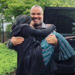 China Anne McClain with father Michael McClain