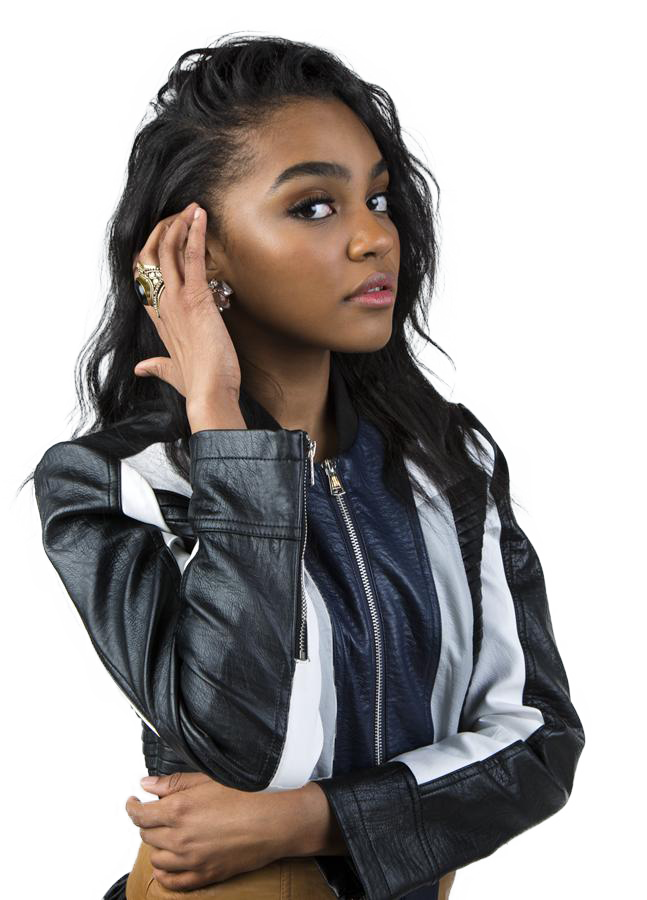China Anne McClain transparent background png image