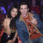 Drake Bell with girlfriend Janet Von image