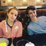 Ethan Wacker with sister Natalie Wacker