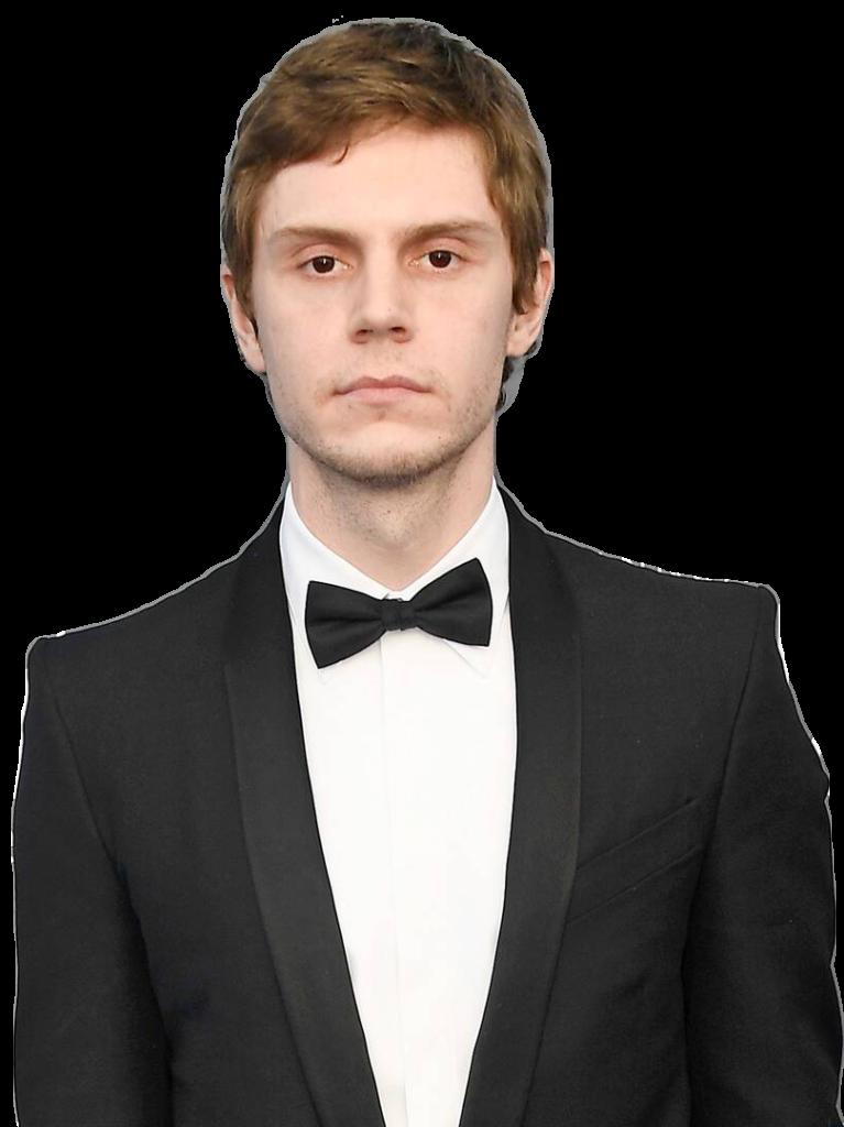 Evan Peters transparent background png image