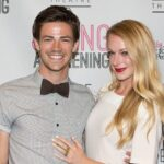Grant Gustin and Hannah Douglass dated