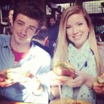 Grant Gustin with sister Gracie Gustin