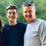 Jack Griffo with his father image